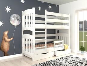 Дерев'яне двоярусне ліжко-трансформер Меліса – довговічні дитячі меблі