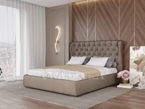 Елегантне та стильне м'яке ліжко з оббивко Амстердам