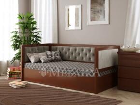 Підйомне ліжко-диванчик з трьома м'якими спинками Немо Люкс М